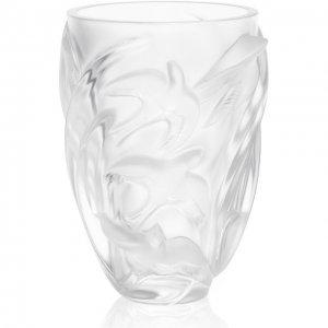 Ваза Martinets Lalique. Цвет: прозрачный