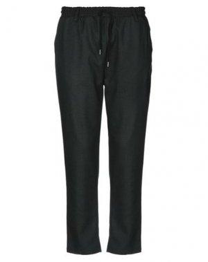 Повседневные брюки ANERKJENDT. Цвет: темно-зеленый