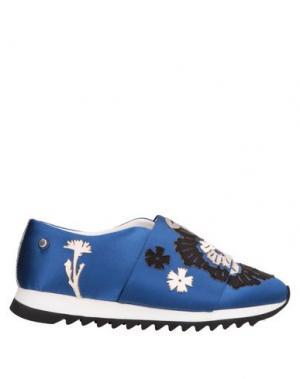 Низкие кеды и кроссовки JUDARI. Цвет: синий