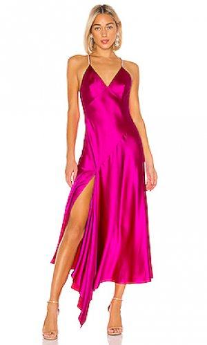 Платье-комбинация JILL STUART. Цвет: фиолетовый