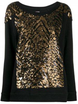 Sequinned sweatshirt Antonio Marras. Цвет: черный