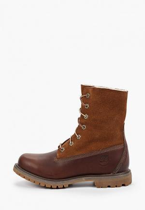 Ботинки Timberland Authentics. Цвет: коричневый