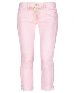 Джинсовые брюки-капри ISABEL MARANT. Цвет: розовый