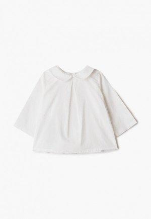 Рубашка Mango Kids - WILL. Цвет: белый