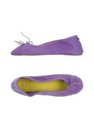 Домашние туфли FLIP FLOP. Цвет: фиолетовый