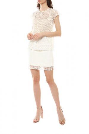 Блуза GIAMBATTISTA VALLI. Цвет: белый