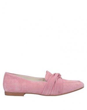 Мокасины VAGABOND SHOEMAKERS. Цвет: розовый