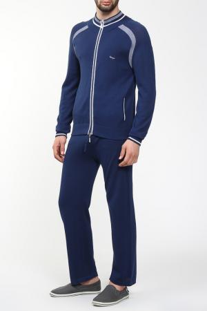 Спортивный костюм CASTANGIA. Цвет: синий
