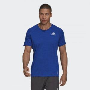 Футболка для бега Performance adidas. Цвет: none