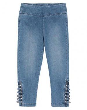 Джинсовые брюки-капри JOSEPH RIBKOFF. Цвет: синий