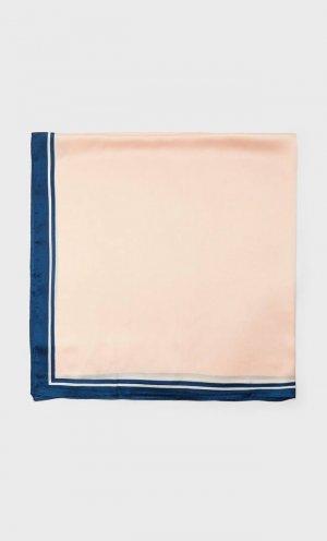 Однотонный Платок, 100 X См Женская Коллекция Пастельно-Розовый 103 Stradivarius. Цвет: пастельно-розовый