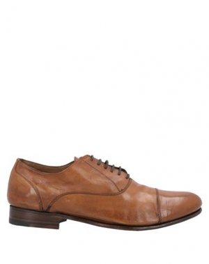 Обувь на шнурках CALPIERRE. Цвет: верблюжий