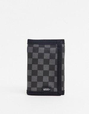 Черно-серый кошелек -Черный Vans