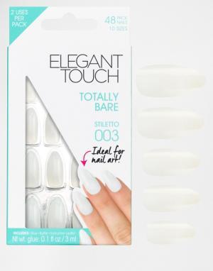 Накладные ногти Totally Bare Stiletto-Очистить Elegant Touch