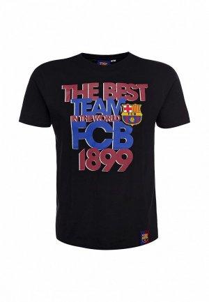 Футболка Atributika & Club™ FC Barcelona FC001EMASB27. Цвет: черный