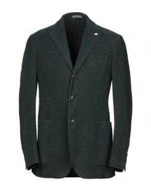 Пиджак ROŸ ROGER'S. Цвет: темно-зеленый