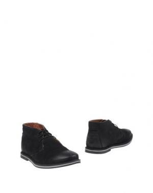 Полусапоги и высокие ботинки FRANK WRIGHT. Цвет: черный