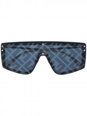 Солнцезащитные очки Fendi Fabulous Eyewear. Цвет: синий