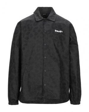 Pубашка HUF. Цвет: черный