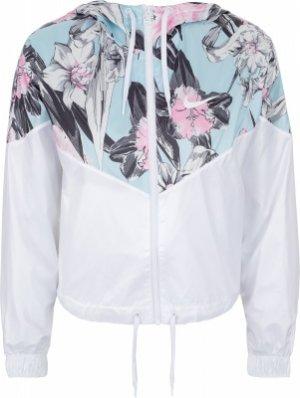 Ветровка женская Sportswear Windrunner, размер 42-44 Nike. Цвет: белый
