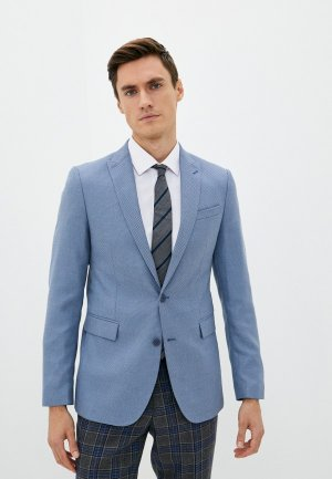 Пиджак Absolutex. Цвет: голубой