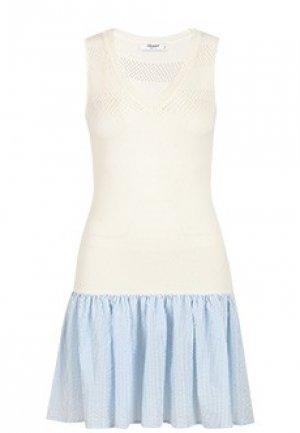 Платье BLUGIRL. Цвет: белый