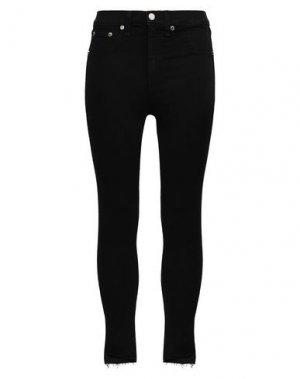 Джинсовые брюки RAG & BONE. Цвет: черный