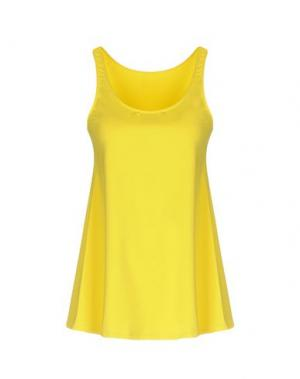 Майка FISICO. Цвет: желтый