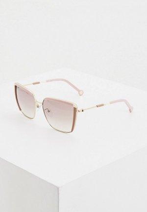 Очки солнцезащитные Carolina Herrera 148-300X. Цвет: розовый