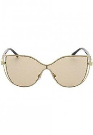 Очки DOLCE&GABBANA sunglasses. Цвет: коричневый