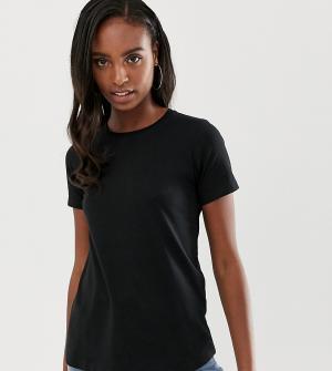 Черная футболка с круглым вырезом ASOS DESIGN Tall Ultimate. Цвет: черный