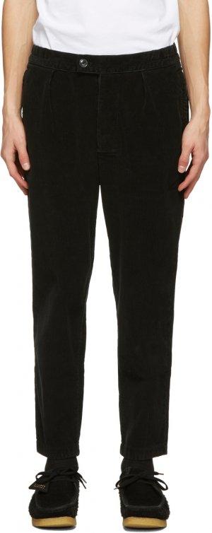 Black Corduroy Jumbo Cord Trousers Barbour. Цвет: black