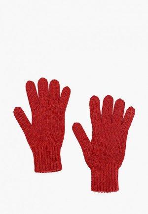 Перчатки Снег Идёт. Цвет: красный