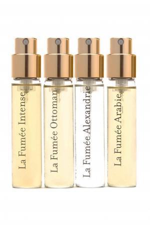 Набор пробников парфюмированной воды La Fumée Discovery Collection, 4 x 9 ml Miller Harris. Цвет: без цвета