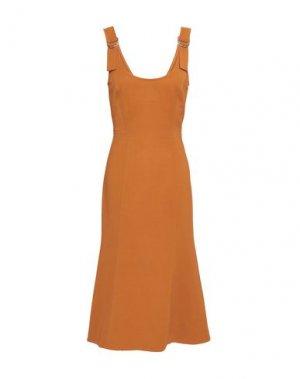 Платье до колена A.L.C.. Цвет: коричневый
