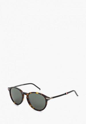 Очки солнцезащитные Tommy Hilfiger TH 1673/S IWI. Цвет: коричневый