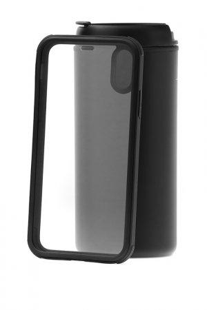 Чехол-накладка iP X Kruche. Цвет: black