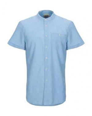 Pубашка BLEND. Цвет: небесно-голубой