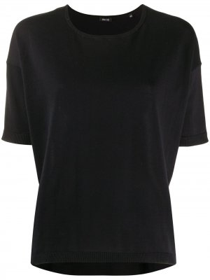 Loose-fit cotton T-shirt Aspesi. Цвет: черный