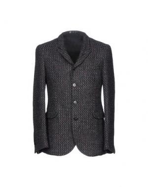 Пиджак LAB 001. Цвет: свинцово-серый