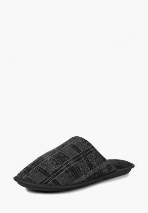 Тапочки T.Taccardi. Цвет: черный