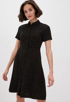 Платье Marks & Spencer. Цвет: черный
