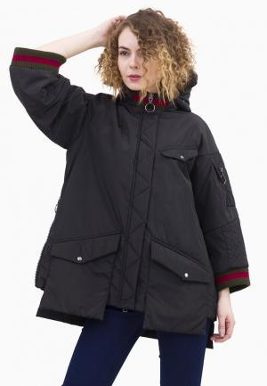 Куртка утепленная Pavel Yerokin. Цвет: черный