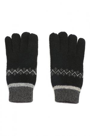 Перчатки Modo Gru. Цвет: черный, серый