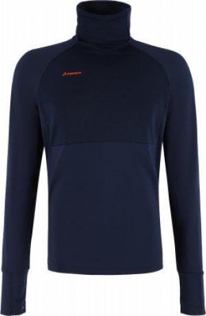 Джемпер футбольный мужской , размер 48 Demix. Цвет: синий