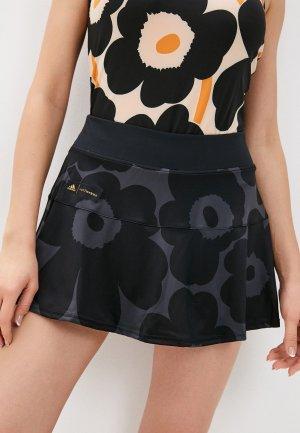 Юбка-шорты adidas MKO M.SKIRT. Цвет: черный