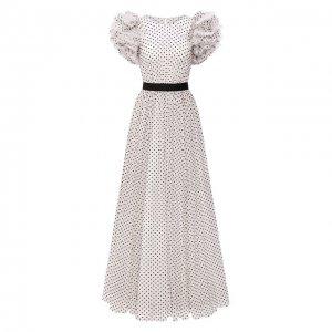 Платье Jenny Packham. Цвет: чёрно-белый