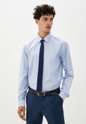Рубашка Hugo Vidal. Цвет: голубой