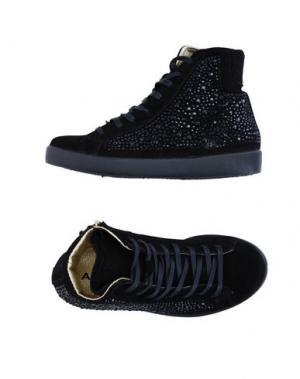 Высокие кеды и кроссовки AMUST. Цвет: черный