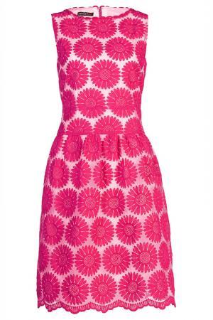 Платье Apart. Цвет: розовый, кремовый